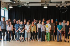 Group photograph from rehearsals   Collective Identity