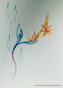 Droplets Artwork by Sonal Noble